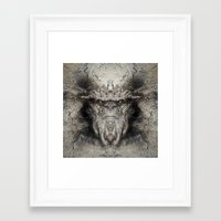 sasquatch Framed Art Prints featuring Sasquatch by Zandonai