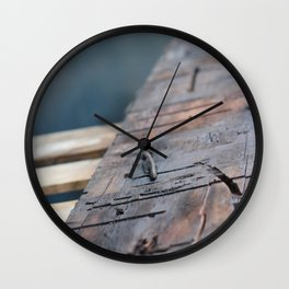 Pallettes Wall Clock