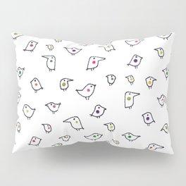 Funny Birds Pillow Sham
