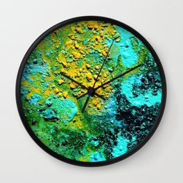 Pour Number 19:  Bubbling Lava Wall Clock