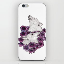 Howling Wolves iPhone Skin