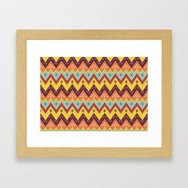 Batik Style 6 Framed Art Print
