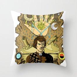 The Sleeper Awakens Throw Pillow