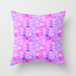 Spunky Dots Throw Pillow