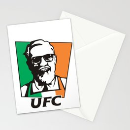 ultimate fight Stationery Cards
