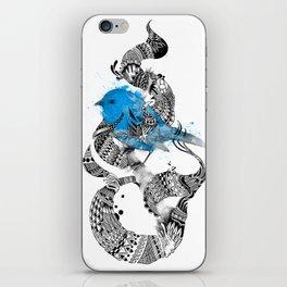 Tweet Your Art. iPhone Skin