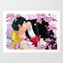 Eternal Kiss Art Print