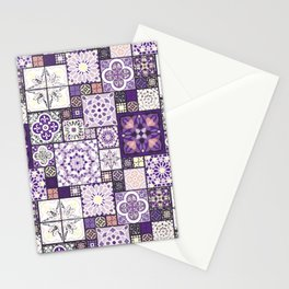 Moroccan Tile Pattern III Stationery Cards