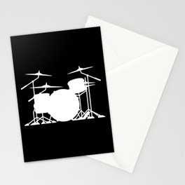 Drum Set Stationery Cards