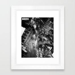 Nu Yuck City. Framed Art Print