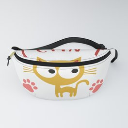 I Cant I Have Plans With My Cat Cute Cat Lover Fanny Pack