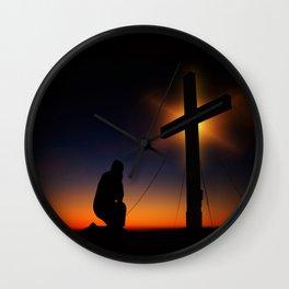 Christian Faith Wall Clock