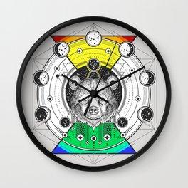 Lunar Phase Wall Clock