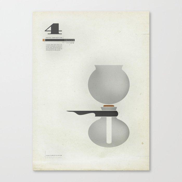 Coffee Contraption #4: Vacuum Canvas Print