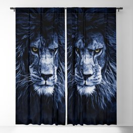 PANTHERA LEO Blackout Curtain