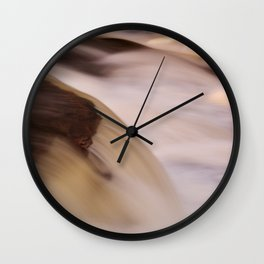 Swallow Falls Close-up Wall Clock