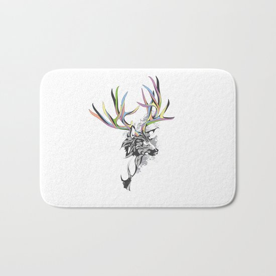 White-Tailed Deer Bath Mat