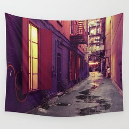 Evenings on the Lower East Side, New York City Wall Tapestry