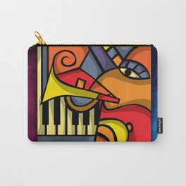Abstract Jazz art Carry-All Pouch