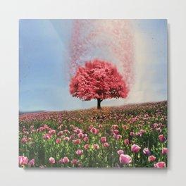 Maple Tree Explosion  Metal Print