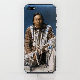 A medicine pipe - Blackfoot - American Indian iPhone Skin