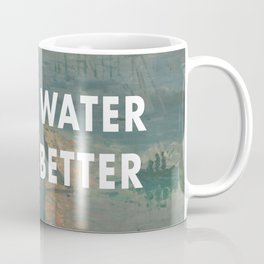I Saw Water x French Sunrise Coffee Mug