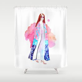 Streetstyle no 2 Shower Curtain