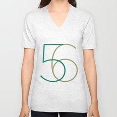 56 Unisex V-Neck