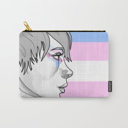 Transgender Pride Carry-All Pouch