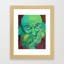 The Greenman by Mary Bottom Framed Art Print