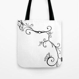 Butterfly Vines Tote Bag