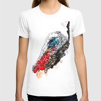 turkey T-shirts featuring Jive Turkey by Stacey Johnson Illustration
