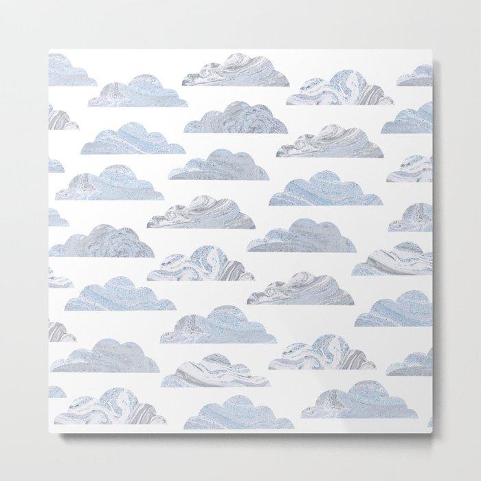 Cute cloud Metal Print