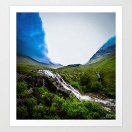 Scotland Hills Art Print