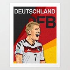 Germany World Cup 2014 Art Print