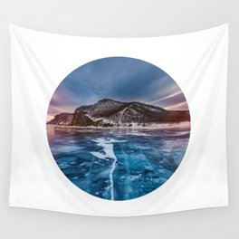 Snow Mountain No1 Wall Tapestry