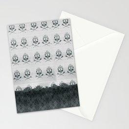 Mountain Skulls: Slight Blue Stationery Cards