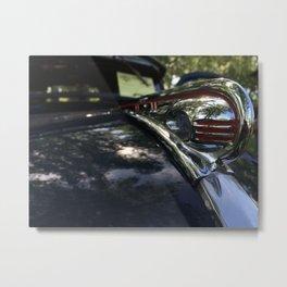 Hood Ornament Metal Print