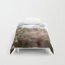 Winter Aster II Comforters