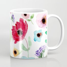 California Dreamin' Red Poppy Coffee Mug