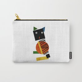 Black Square Cat - Suprematism Carry-All Pouch