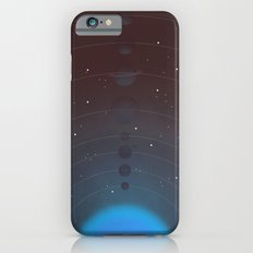 Halftone Blue Star Slim Case iPhone 6s