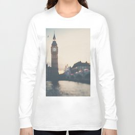 sunset over the city ... Long Sleeve T-shirt