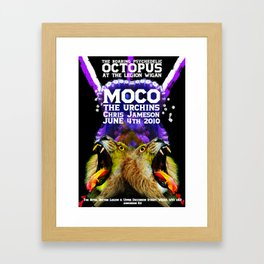 The Roaring Psychedelic Octopus Framed Art Print