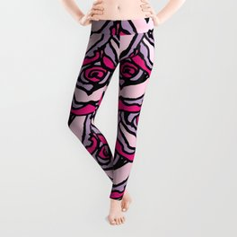 Rock Rose Pink Leggings