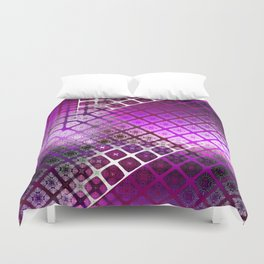 Place 2B Pattern (Berry Much) Duvet Cover