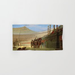 12,000pixel-500dpi - Jean-Leon Gerome - Ave Caesar, Morituri Te Salutant - Digital Remastered Hand & Bath Towel