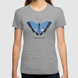 Morpho menelaus Blue Butterfly T-shirt