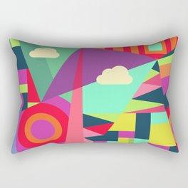 Geometric#7 Rectangular Pillow
