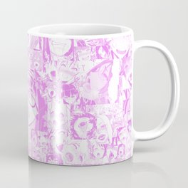 Pastel Ahegao Collage Coffee Mug